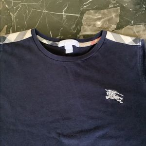 Authentic Burberry kids navy tee shirt size 10yrs